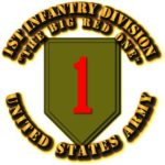Army-1st-Infantry-Division-Big-Red-1